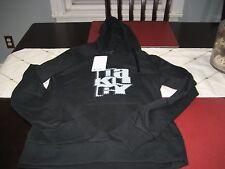 WOMENS OAKLEY Hoodie Jacket Top L LARGE BLACK  NWT