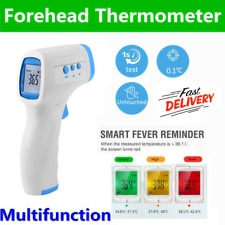 Infrared Non-Contact Digital Forehead Thermometer Temp termometro FDA CE DR
