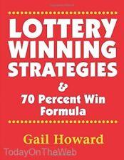 Lottery Winning Strategies: & 70 Percent Win Formula Paperback by Ms Gail Howard