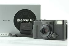 [Mint in Box] Fuji Fujifilm Klasse W Black 35mm Point & Shoot Camera JAPAN #286