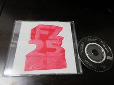 Frank Zappa FZ 25 Japan Promo only 3 inch CD Single Psychedelic