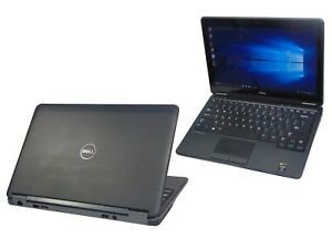 Dell Latitude E7240 Touch Core i5-4300U 4GB DDR3 128GB SSD Webcam FHD Laptop