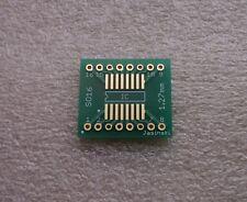 1x Adapterplatine SO16 (1,27mm) / SOP16 (0,65mm) auf 2,54mm (0.9) FR4 (ENIG)