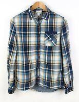 DIESEL Men Check Casual Shirt Size M ACZ191