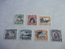 NIUE COOK ISLANDS STAMPS SG 62-8 Scott 61-6 Single Watermarked  Fine Used