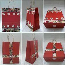 Flowers & Fruits Handmade Gift Bag