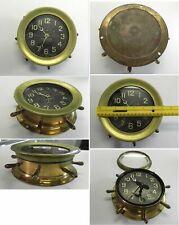 RARE Antique WW1 1915-1919 Chelsea US Navy Ship's Deck Clock No 1 with Spokes