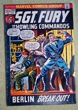 Sgt Fury and his Howling Commandos #103 (Oct 1972, Marvel) 5.0 VG/FN Hilter app.
