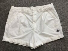 """ADIDAS RETRO TENNIS SHORTS OLDSCHOOL VINTAGE THE BUSINESS CASUALS 70s 80s 36"""" L"""