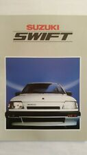 Suzuki Swift, Prospekt-Heft, 1986