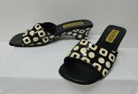 Women's Angela Frascone Size 6 Sandals Shoes Heels Slip-On Casual Work