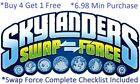 *Skylanders Swap Force Complete UR Set W Checklist *Buy 4 = 1Free*$6.98Minimum👾 For Sale