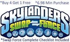 *Skylanders Swap Force Complete UR Set w Checklist $6.98 Min *Buy 4 get 1 Free👾