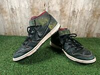 Nike SB Dunk Mid Elite Nitraid Black / Digi Camo Men's Size 9.5 UK 44.5 EUR