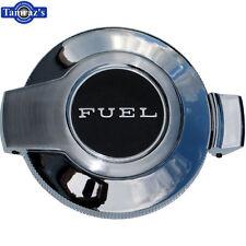 "69-70 Charger Flip Top DOOR / CAP "" Fuel "" Gas Tank Filler Neck Chrome Plated"
