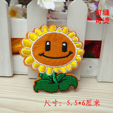 Sew on & iron on  patches(Plants vs Zombies Sunflower)
