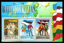 Lithuania - 1999 10 years Baltic cooperation - Mi. Bl. 17 MNH