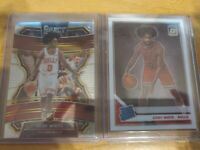 2019 Donruss Optic And Panini Select Coby White Rc (2 Cards)