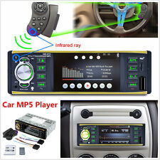 "4.1""HD Touch Screen 1DIN Car MP3 MP5 Player Bluetooth Stereo Radio FM SD/MMC/USB"