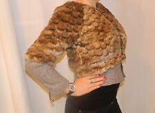 Gorgeous NEW JUICY COUTURE Fur Zip Up Jacket Coat Sz P