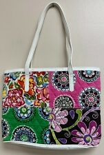 Vera Bradley Multi Pattern Quilted Small Tote 2 Handle Pockets