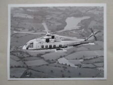 PHOTO PRESSE EH101 CIVIL HELICOPTER PP3 HUBSCHRAUBER HELICOPTERE