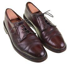 Florsheim Royal Imperial SHELL CORDOVAN #8 Plain Toe Blucher V CLEAT Shoes 10.5C