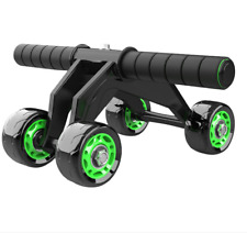4-Wheel Fitness Ab Roller Workout Muscle Abdominal Abs Gym Stable Exerciser