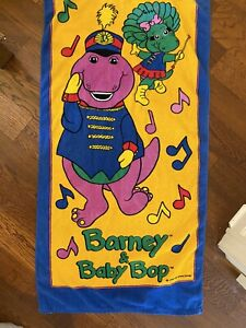 Barney And Baby Bop Vintage Towel Napmat