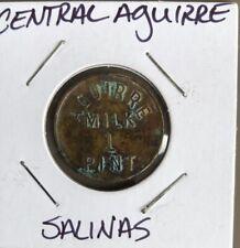 HACIENDA TOKENS OF PUERTO RICO...CENTRAL AGUIRRE (SALINAS)