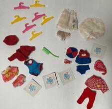 Vintage 1972 Remco World Of Sweet April Assorted Clothing Sets