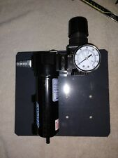 Exair Model 9001 3/8 Drain Filter Separator Regulator with pressure gauge