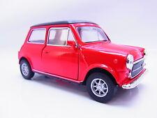 27608 | Welly Mini Cooper 1300 rot Modellauto mit Antrieb 1:40 Neu