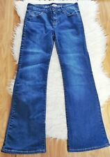 Joe Browns Women's Jeans Blue Size 10 Cotton Mix Denim Bootcut Casual VGC