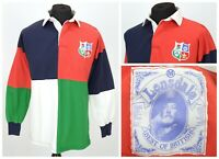 Mens Lonsdale Vintage Rugby Shirt British and Irish Lions Union Size M