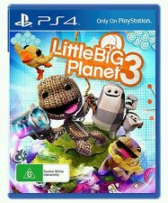 LittleBigPlanet 3 (PS4) GENUINE LOCAL STOCK - BRAND NEW - FAST AUS DELIVERY
