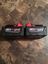 Milwaukee 48-11-1850 18V XC 5.0 AH Battery M18 18 Volt XC 5.0 Red Lithium NEW