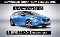 Volvo 2014D VIDA SERVICE REPAIR MANUAL PARTS INCLUDES EWD 2014D WIRING DIAGRAMS