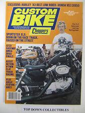 Custom Bike Magazine   December 1982     Great Feature Bikes/ATCO Raceway