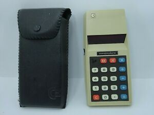 Vintage Commodore 786D Red LED Solid State Portable Calculator