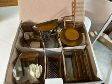 VINTAGE Lot 8 pieces 1:12 Dollhouse Miniature Furniture New In Box