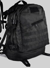 Extreme Outdoor Quality BlackHawk style Molle 3-Day Assault Back Pack Black