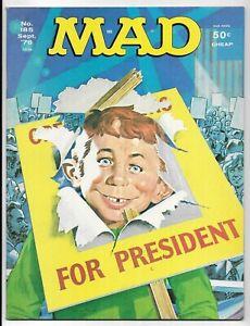 MAD MAGAZINE #185 BRONZE AGE EC SATIRE COMIC BOOK Starsky & Hutch TV Show 1976