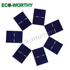 40pcs 52x38mm Solar Cells for DIY 10W Poly Solar Panel Education Kit Gift