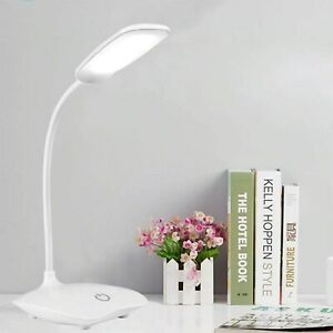 LED Desk Lamp Touch Table Lamps For Living Room Gooseneck  USB powered