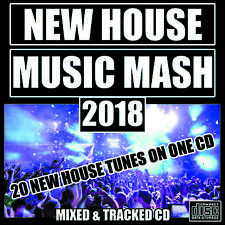 NEW HOUSE MUSIC MASH CD Mix 2018 ibiza Style Tunes Organ Jack Bass Funky Deep DJ