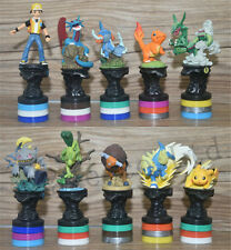 10 Sets Pikachu Pokemon Go Action Figure Kids Toy Pocket Monster
