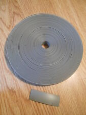 CARAVAN WINDOW RUBBER, PLASTIC INFILL/INSERT TRIM STRIP, 25M ROLL, GREY, 23mm