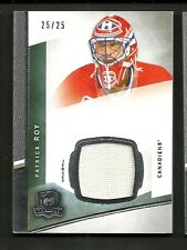 2012-13 Upper Deck The Cup PATRICK ROY Jersey Base Parallel Serial # 25 of 25