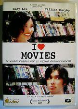 DVD I LOVE MOVIES con Lucy Liu e Cillian Murphy Usato